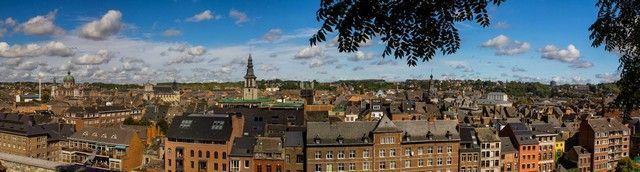 panoramica de namur belgica
