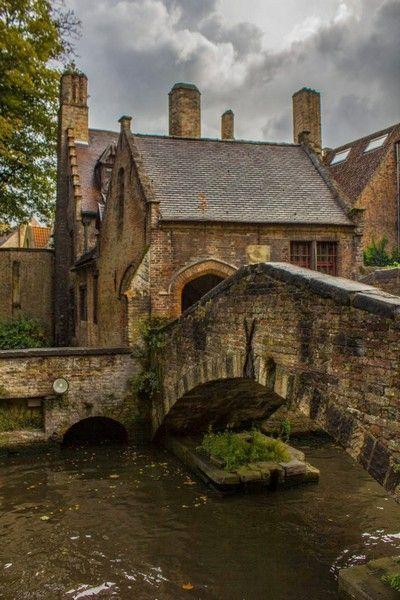 puente centro historico brujas belgica