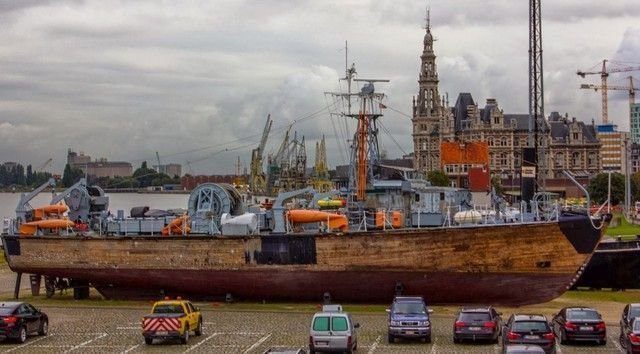 puerto amberes belgica