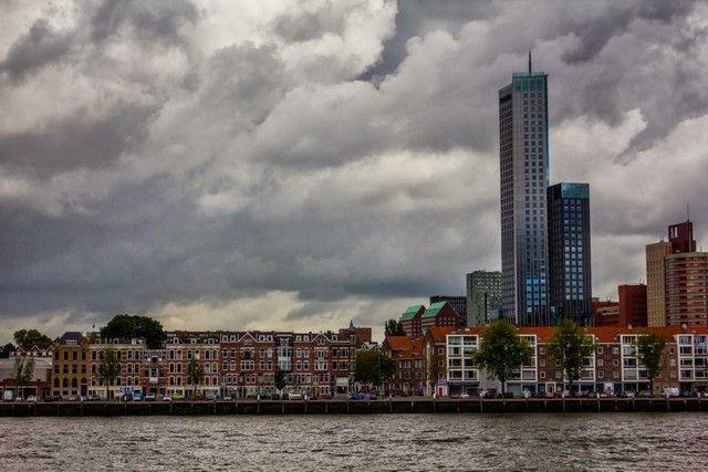 skyline rotterdam holanda
