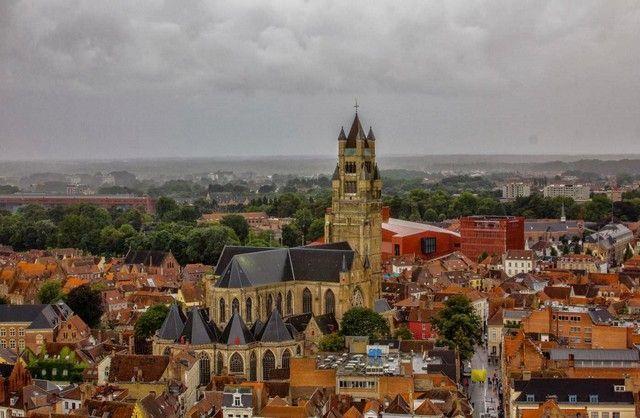 vistas desde la torre belfort bruja belgica 2