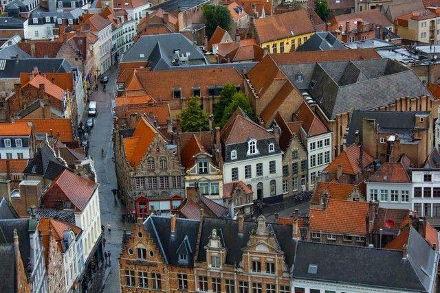 vistas desde la torre belfort bruja belgica 3
