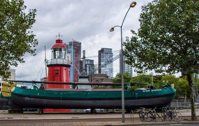 zona del puerto rotterdam holanda