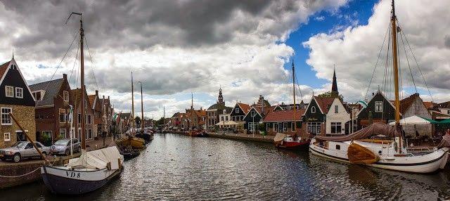 Monnickendam waterland holanda
