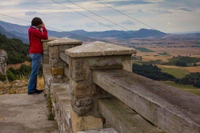 Natural Montes Obarenes mirador