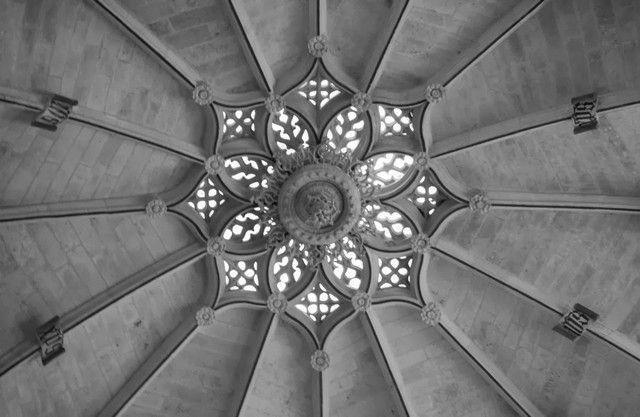 Bobeda estrellada de la catedral