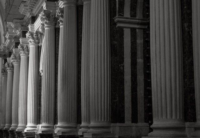 columnas catedral de burgos