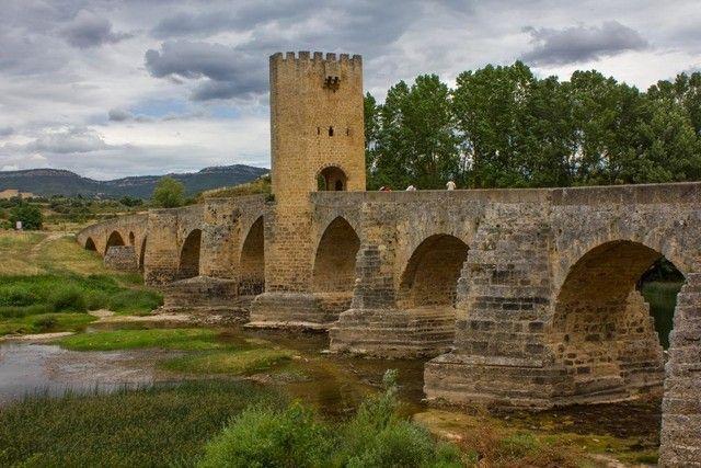 puente medieval frias burgos