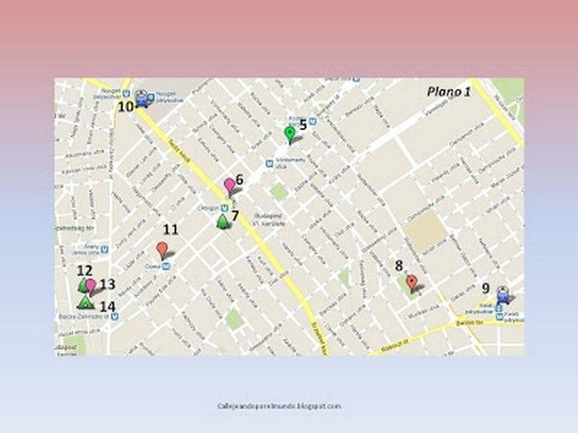 budapest mapa 2