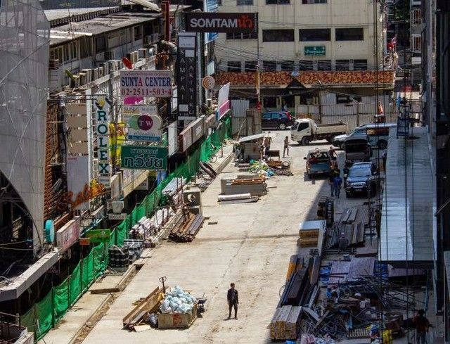 contrastes calles de bangkok