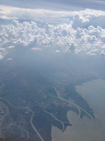 llegando a Bangkok