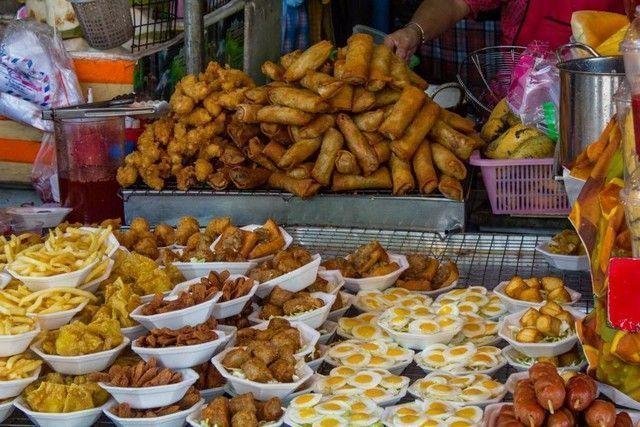puestos de comida mercado chatuchak