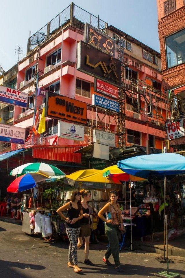 Khao San bangkok detalle