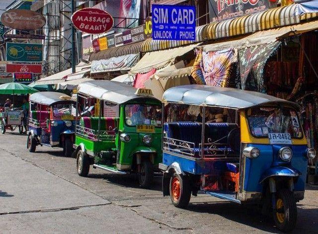 Khao San detalle de la calle 2