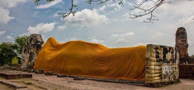 Wat Lokayasutharam ayutthaya
