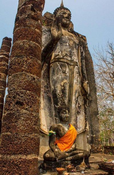 Wat Saphan Hin sukhotai 2