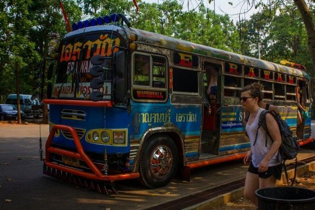 autobús kanchanaburi erawan 3