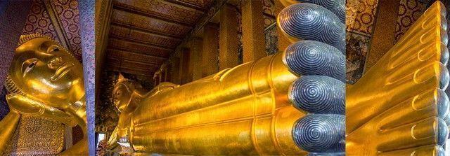 bangkok Buda Reclinado (Wat Pho)