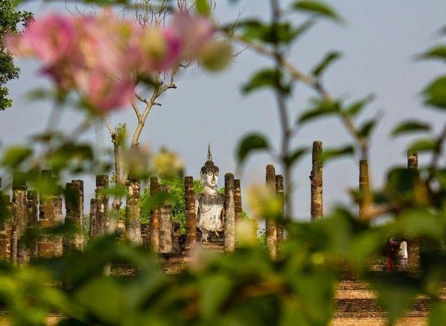 imagen general de sukhota tailandia