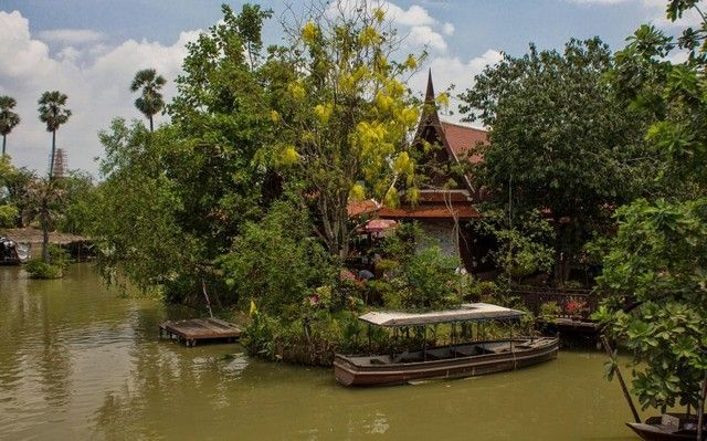 mercado flotante ayutthaya 2