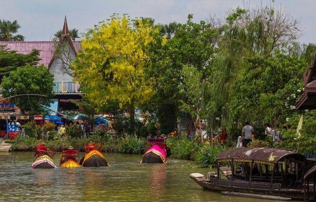 mercado flotante ayutthaya 4