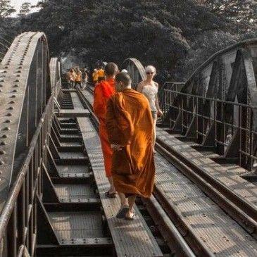 Kanchanaburi y el puente sobre el río Kwai.