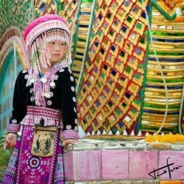 Tiger Kingdom, Doi Shutep, Poblado Hmong.