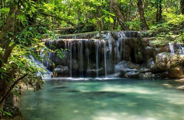 parque natural erawan tailandia