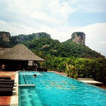 piscina railay princess resort
