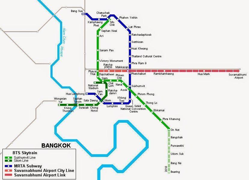 plano metro bangkok