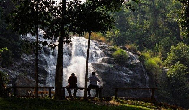 Waohirathan Waterfalls doi inthanon chiang mai