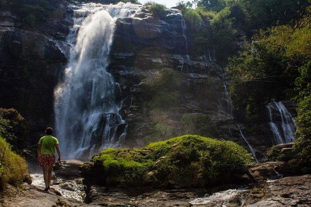 Waohirathan Waterfalls doi inthanon