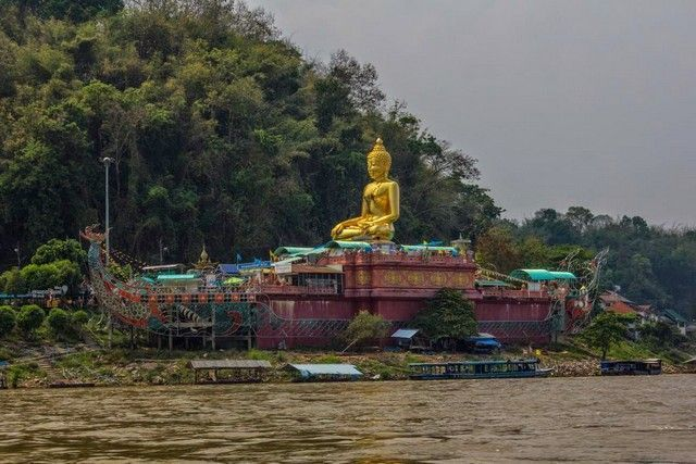lado tailandes rio mekong tailandia
