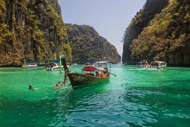 loh sama phi phi island tailandia