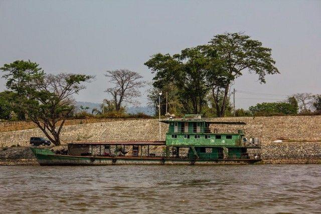 navegando por el rio mekong