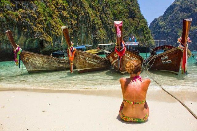 phi phi leh maya beach tailandia