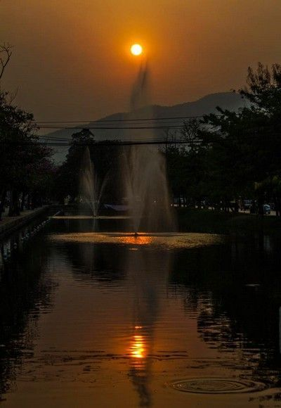 puesta de sol chiang mai