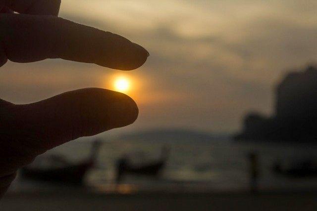 puesta de sol en railay 2