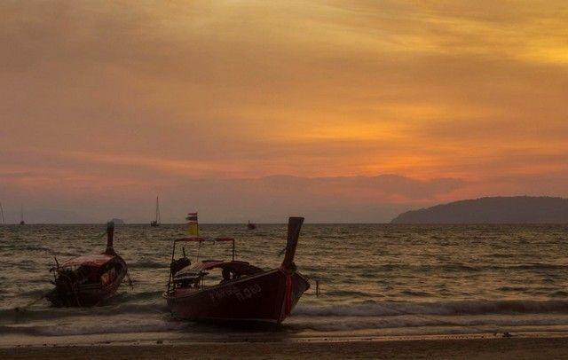 puesta de sol en railay 3