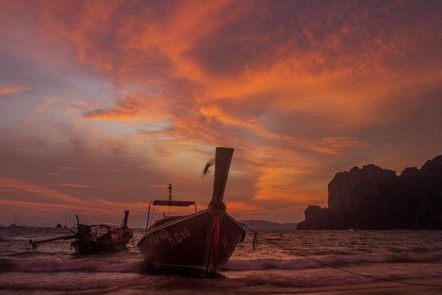 puesta de sol en railay 4
