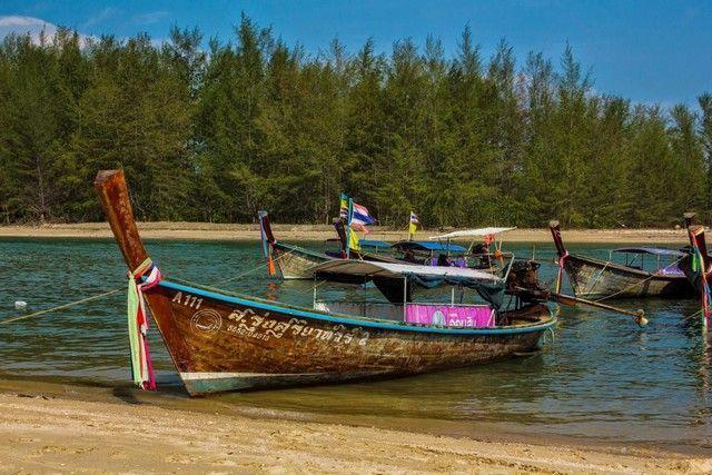 barcos típicos tailandia