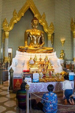 buda de oro wat traimit bangkok