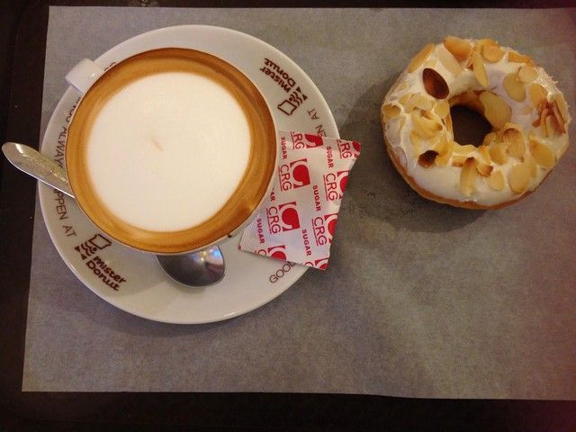 desayuno mister donut bangkok