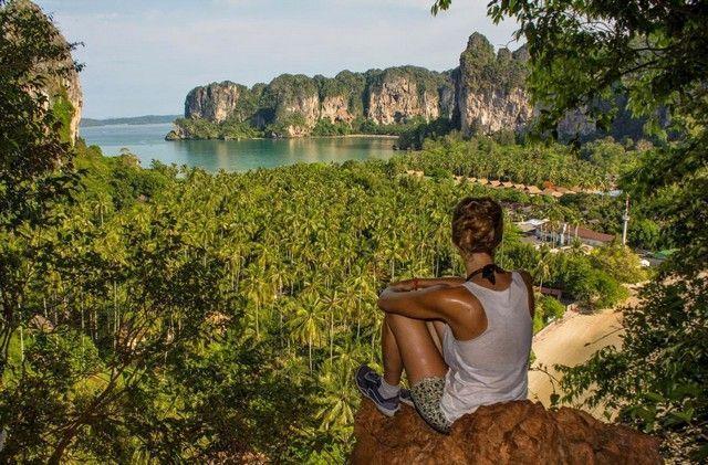 mirador de railay tailandia