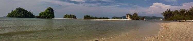 playa camino de Koh Hong Tailandia