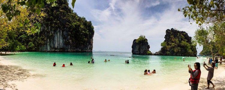 vista panorámica isla hong tailandia