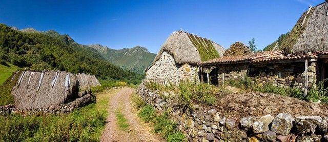 Panorámica La Pornacal Somiedo Asturias