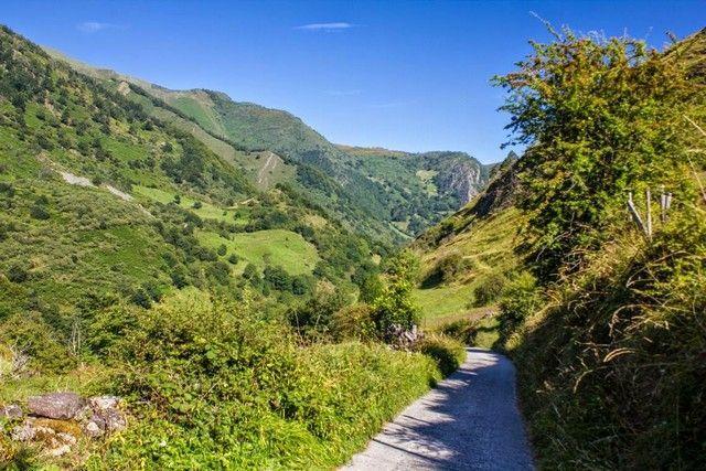 camino de acceso a La Pornacal