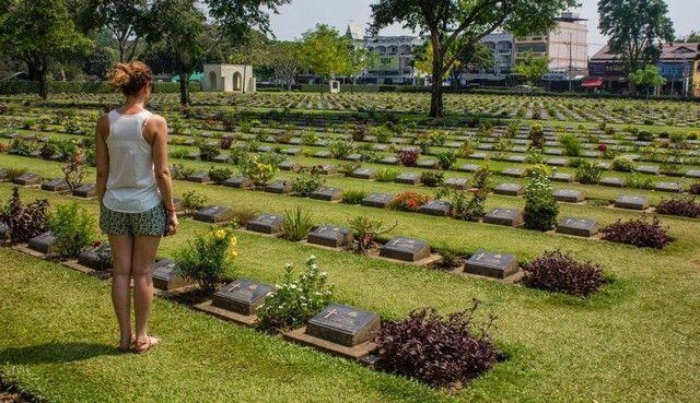 cementerio kanchanaburi tailandia