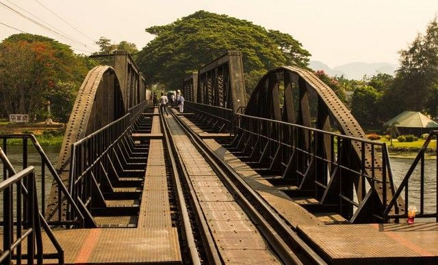 puente sobre el río kwai tailandia